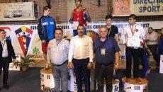 Craioveanul Daniel Dumitru a fost singurul pugilist român care a devenit campion european la competiţia de la Vâlcea (foto: Prosport)