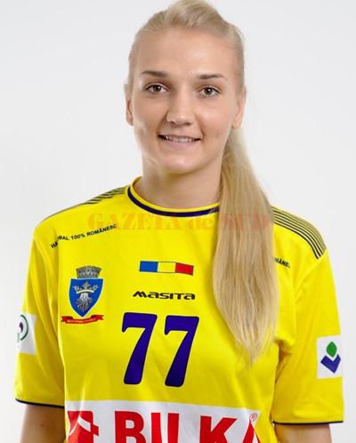 Andreea Pricopi a mai lucrat cu antrenorul Bogdan Burcea la Corona Brașov