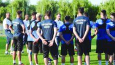 Jucătorii Craiovei trebuie să asculte şi să execute întocmai cerinţele lui Mangia dacă vor să iasă bine jocul cu AC Milan (Foto: Alexandru Vîrtosu)
