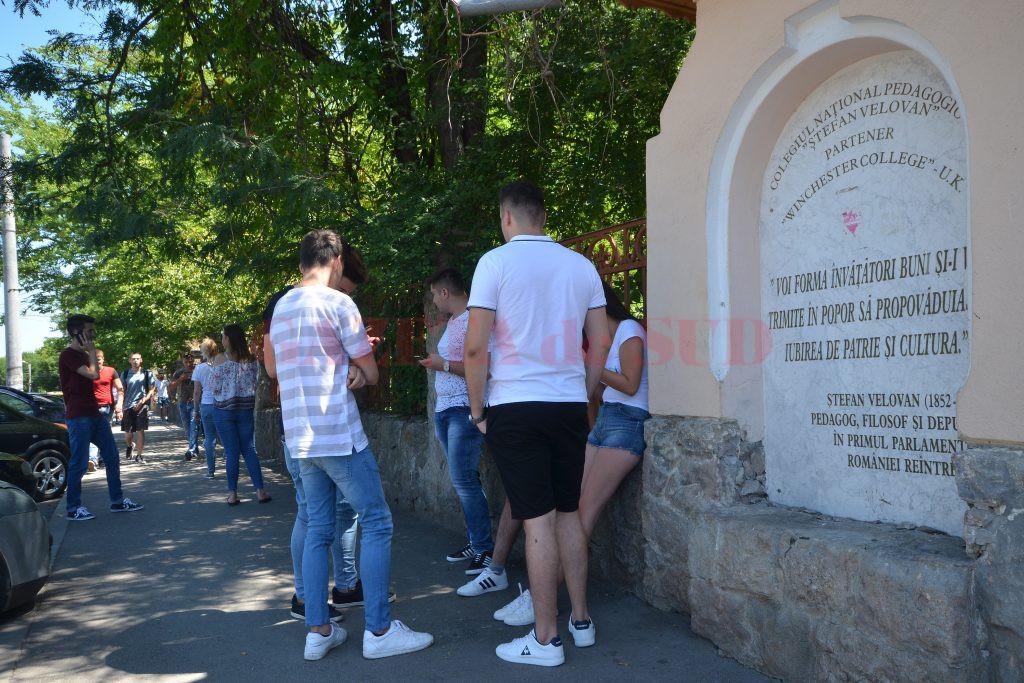 În Dolj, bacalaureatul a fost  promovat de 2.791 de candidați (Foto: Bogdan Grosu)
