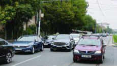 Calea Bucureşti, pe primul loc la numărul de accidente