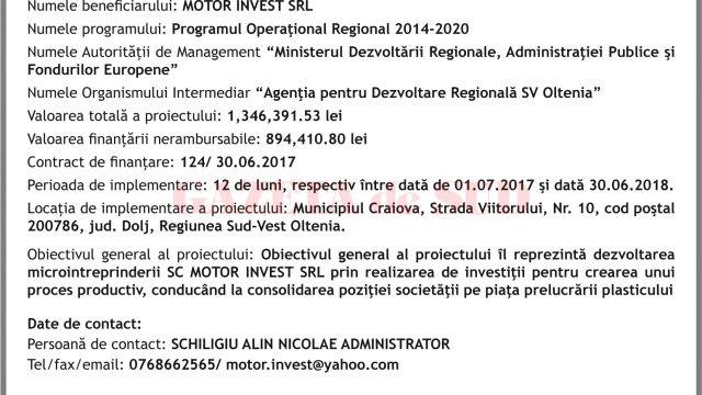 Motor Invest 13,07 x 17