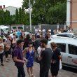 Ieri, absolvenți de liceu au susținut examenul de admitere la Universitatea de Medicină din Craiova, concurența a fost mare, la fel și emoțiile
