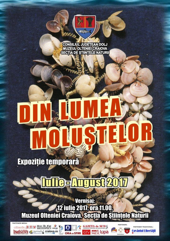 afis expozitie moluste