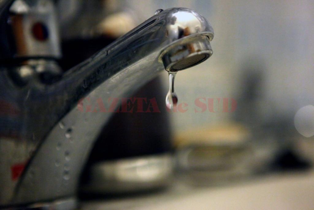 Se va întrerupe alimentarea cu apă potabilă în centrul Craiovei