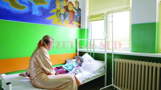 106 copii au fost diagnosticați cu boală diareică acută numai săptămâna trecută,  atât în spitale, cât și în cabinetele medicilor de familie (Foto: arhiva GdS)