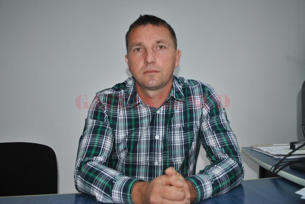 Dănuţ Birău, edilul din Târgu Cărbuneşti