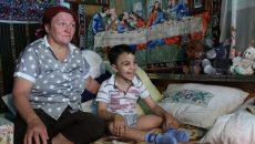Dragoş alături de mama lui, Aniana Condescu