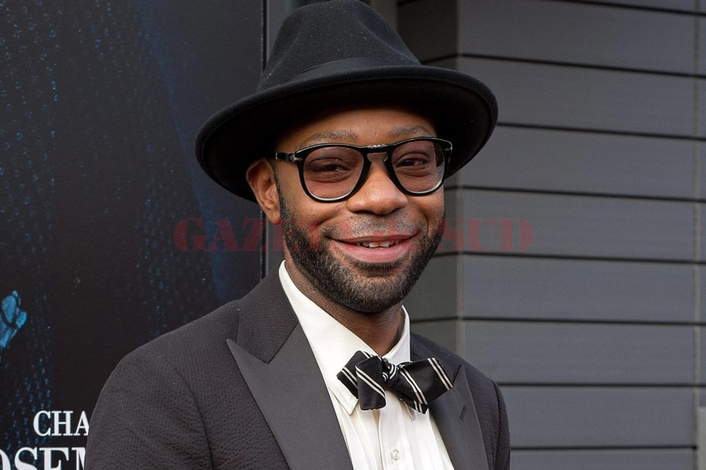 "NEW YORK, NY - JULY 21:  Actor Nelsan Ellis attends the ""Get On Up"" premiere at The Apollo Theater on July 21, 2014 in New York City.  (Photo by D Dipasupil/FilmMagic)"