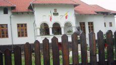 Sediul Judecătoriei Novaci, încălzit cu lemne
