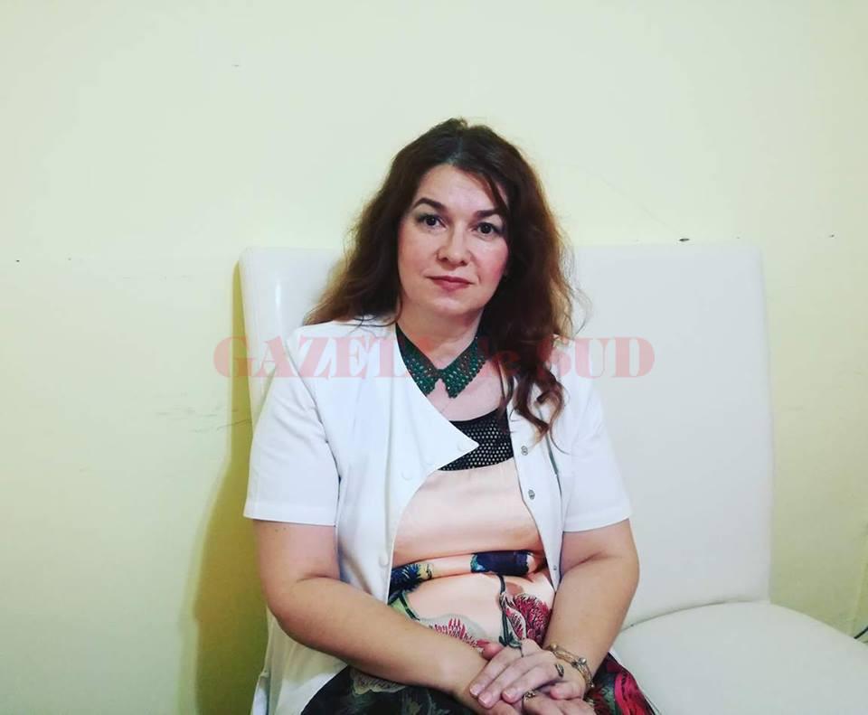 As. univ. dr. Ana-Maria Bumbea a vorbit despre condițiile în care sunt tratați pacienții olteni