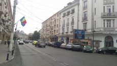 Pe strada A.I. Cuza vor fi 94 de locuri de parcare cu plata prin SMS (Foto: Marian Apipie)