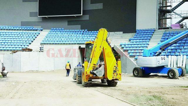 Noul stadion municipal ar putea fi gata abia către sfârşitul acestei toamne