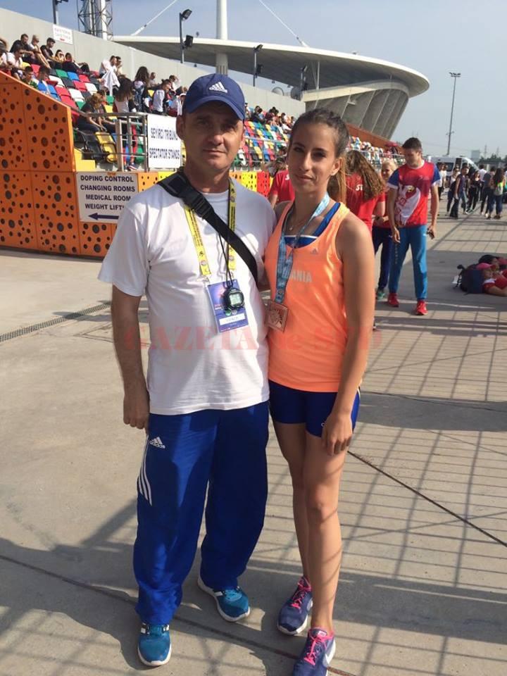 În Turcia, Vanessa Balaci, sportivă pregătită de Nicușor Bugiulescu, a obținut medalia de bronz la Campionatul Balcanic