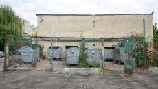 Platforma de gunoi era curată, miercuri, iar containerele defecte fuseseră schimbate