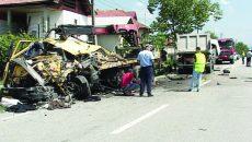 Cel mai grav accident din 2017 de până acum a avut loc la Bumbești-Pițic
