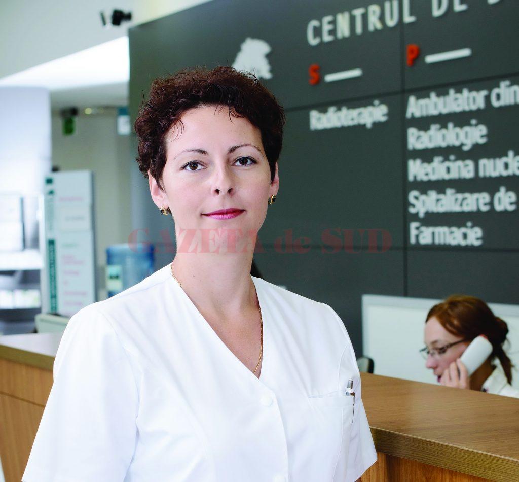 Izabela Condei, medic primar imagistică medicală în cadrul Spitalului Onco Card