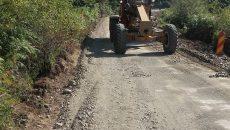 Drumul reprezintă unica rută către Spitalul de Pneumoftiziologie de la Dobriţa