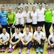 Jucătoarele de la SCM Craiova au disputat şase amicale, în cadrul a două turnee. Bilanţul a fost de cinci victorii şi o înfrângere.