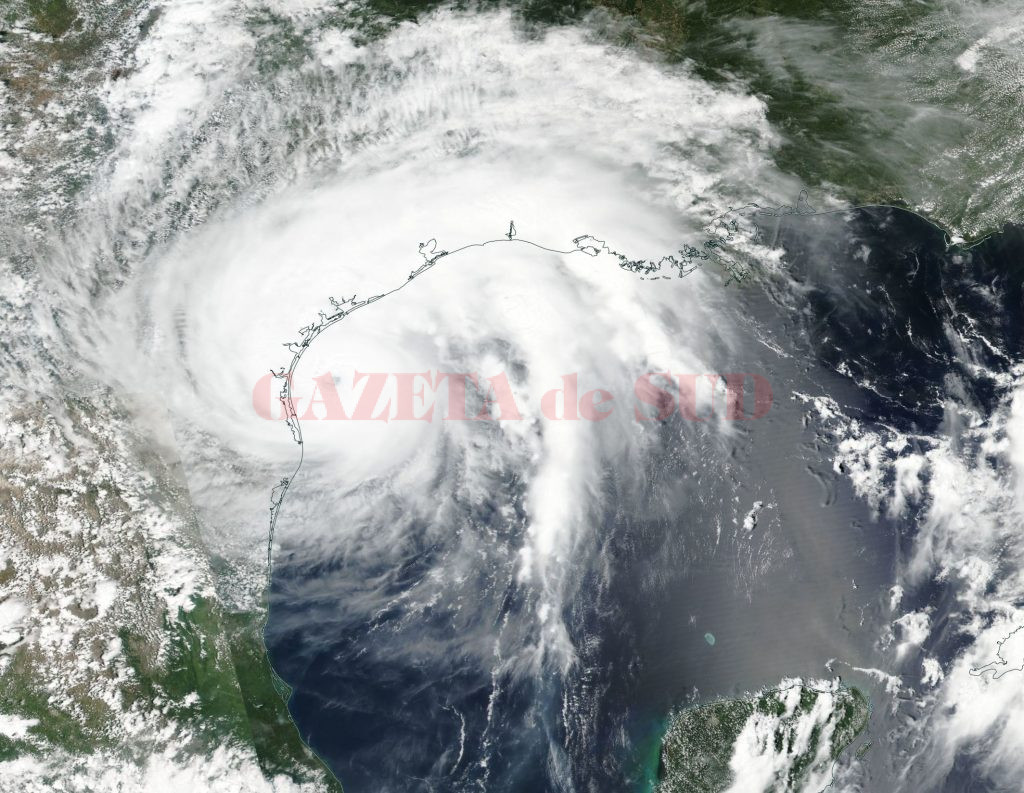 Hurricane Harvey strengthens to category 4