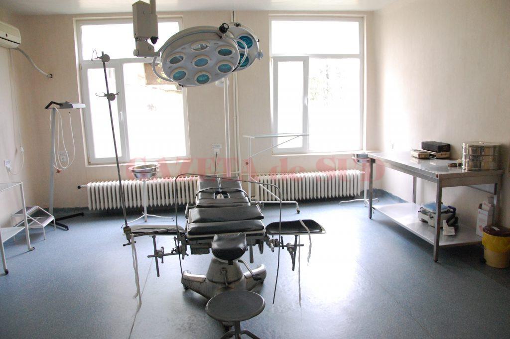 Mesele chirurgicale din sălile de operație ale Spitalului din Băilești sunt din 1970. Managerul spune că există un proiect prin care ar urma să fie înlocuite  sala operatie urologie.