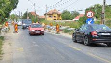 Podul de la Malu Mare trebuia finalizat pe 30 septembrie, dar constructorul, firma italiană SECOL, nici nu a demarat lucrările (FOTO: Claudiu Tudor)
