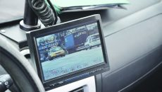 Polițiștii susțin că autoturismul BMW a fost înregistrat de aparatul radar circulând cu viteza de 86 km/h