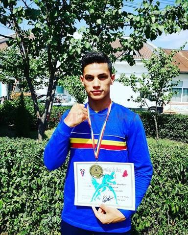Cosmin Toboșaru luptă pentru o medalie cât mai strălucitoare