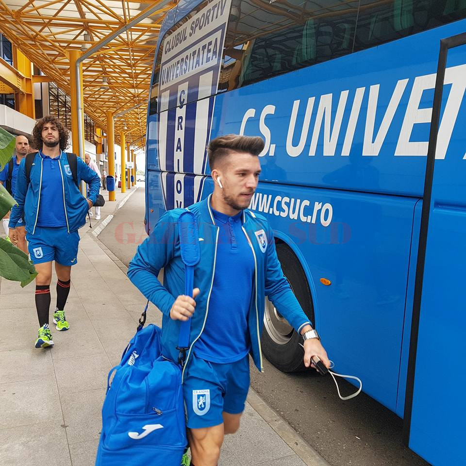 Jucătorii Craiovei au plecat încrezători spre Ardeal (Foto: csuc.ro)