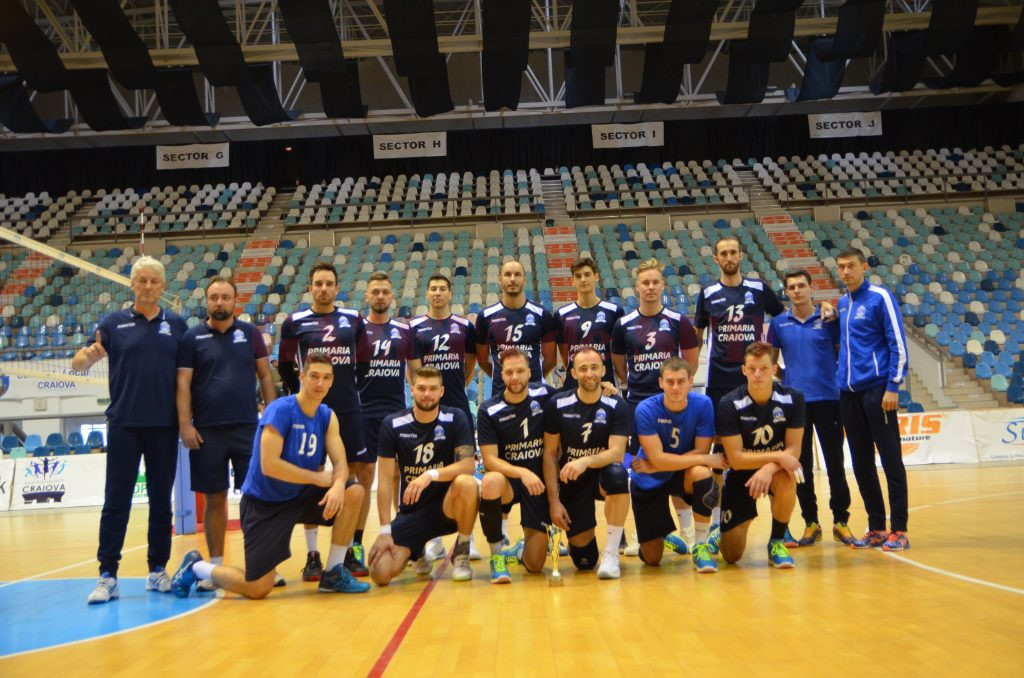 Noua echipă de la SCM-U Craiova s-a clasat pe locul doi la turneul amical din Bănie (foto: Daniela Mitroi-Ochea)