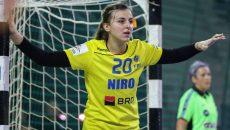 Yulia Dumanska (SCM Craiova) este pregătită să facă un meci bun cu Austria
