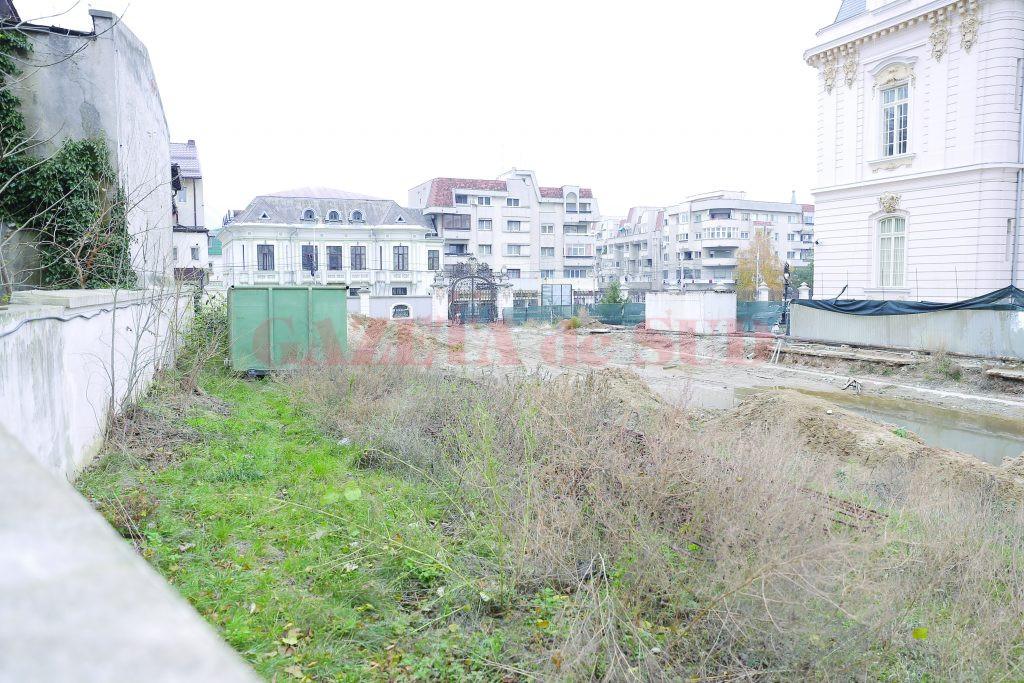 Așa arată locul unde firma italiană anterioară a lucrat mai bine de un an la construirea Centrului Internațional Brâncuși