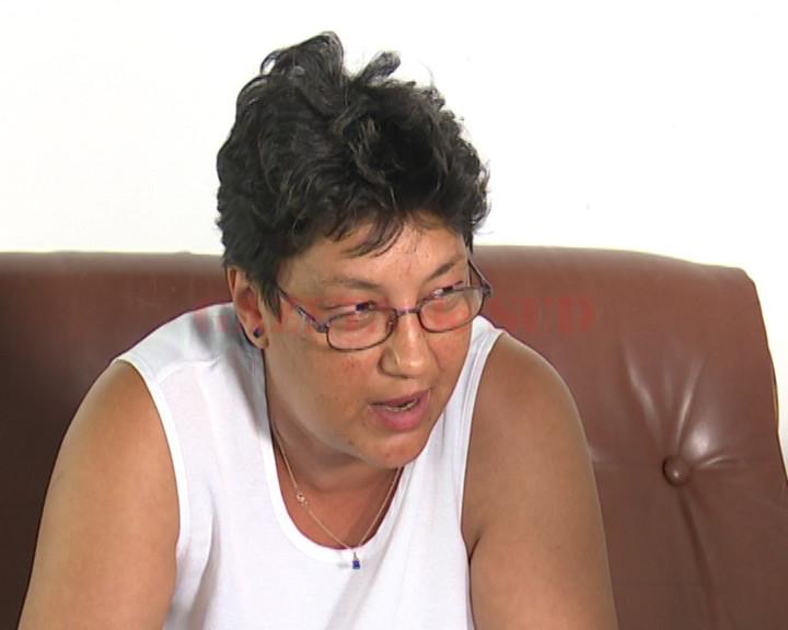 Sevastia Topuzu, disperată că va rămâne fără locuinţă