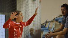 Cristina Lung îşi doreşte să ajungă un nume mare în sportul românesc, la fel ca tatăl său, Tibi (foto dreapta), unchiul şi bunicul