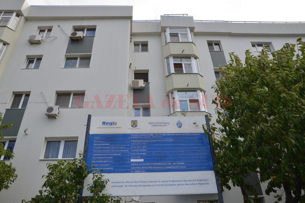 Bloc reabilitat în cartierul 1 Mai (Foto: Bogdan Grosu)