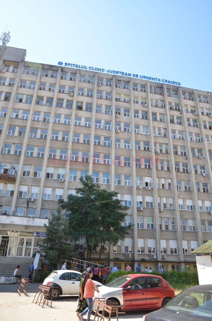 Spitalul Județean de Urgență Craiova, pe lista unităților medicale ce urmează să primească aparatură medicală importantă