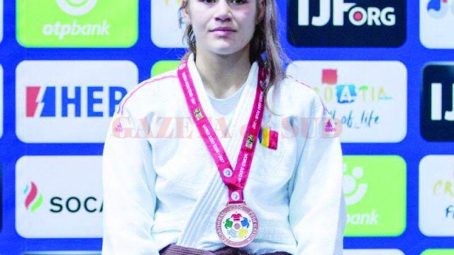 Cleonia Rîciu a cucerit în 2017 multe medalii, dar cea de bronz de la Mondialele U21 este cea mai valoroasă