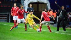 Alex Băluță a fost titular cu Danemarca și a pus probleme nordicilor (foto: frf.ro)