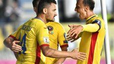 Budescu a fost jucătorul care a deschis drumul spre victoria cu Kazahstan (Foto: frf.ro)
