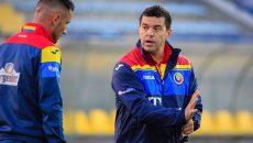Cosmin Contra (dreapta) este pregătit pentru debutul la Naţională