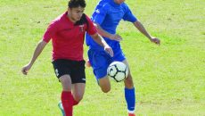 """Școlarii"" (albastru) au debutat cu bine în Liga Elitelor (Foto: Alexandru Vîrtosu)"