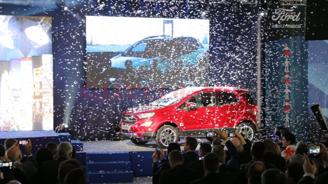 Lansarea producției de Ford EcoSport la Craiova (Foto: Lucian Anghel)