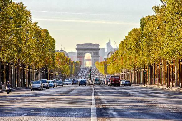 champs-elysees-paris-france-avenue