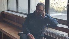 Darius Vâlcov, prezent ieri la Tribunalul Gorj