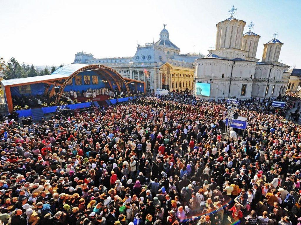 Preacuviosul Părintele nostru Dimitrie cel Nou, ale cărui sfinte moaşte se află în Bucureşti