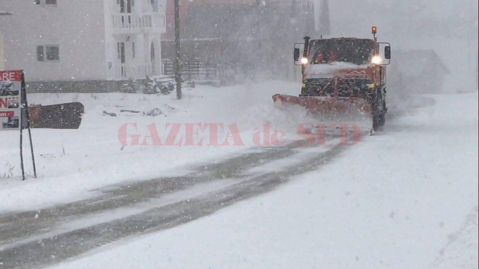 În fiecare iarnă au fost probleme  cu deszăpezirea străzilor din Rânca