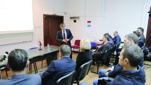 Avocatul și consultantul Gabriel Biriș a spus că România riscă declanșarea procedurii de infringement, dacă rămân valabile prevederile fiscale privind impozitul pe venitul firmelor cu cifră de afaceri de până la 1.000.000 de euro (Foto: Lucian Anghel)