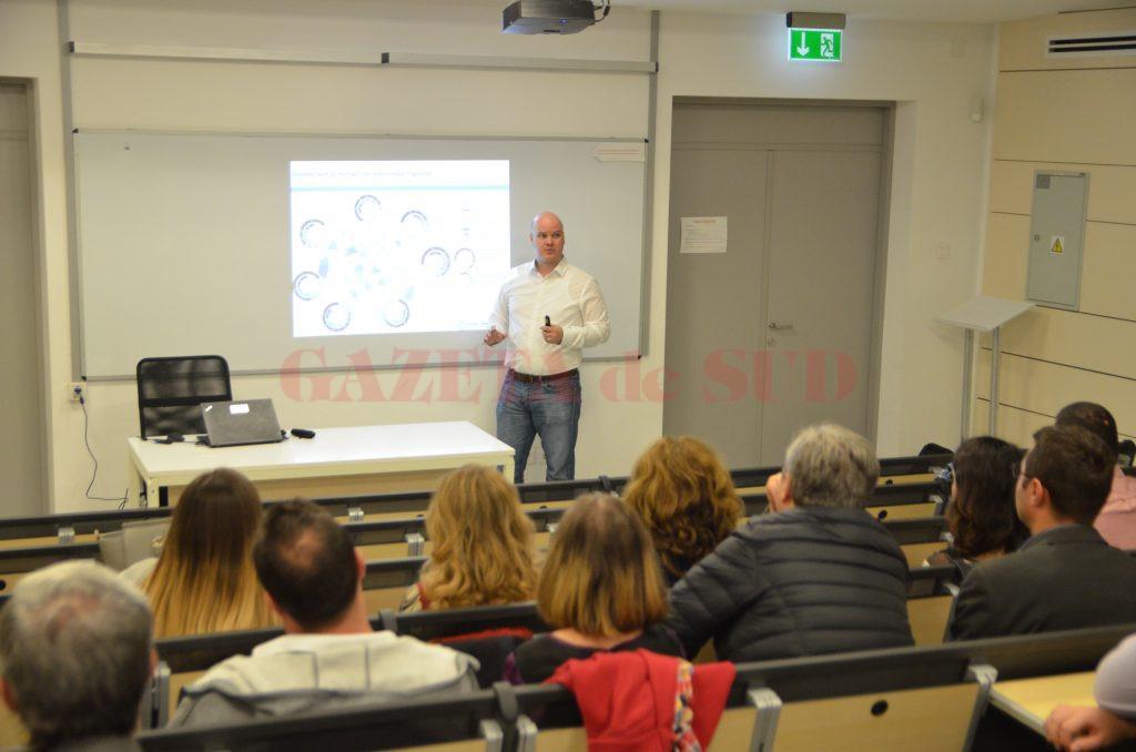 Marcel Heroiu, expert în dezvoltare urbană la Banca Mondială, a prezentat un studiu privind migrația, la Craiova