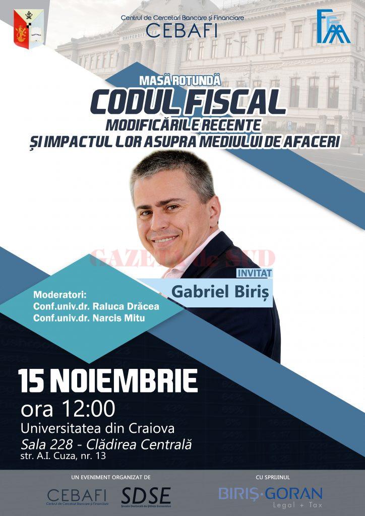 Poster Eveniment - BIRIS
