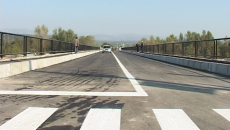 Podul de la Turcineşti, redat complet circulaţiei publice